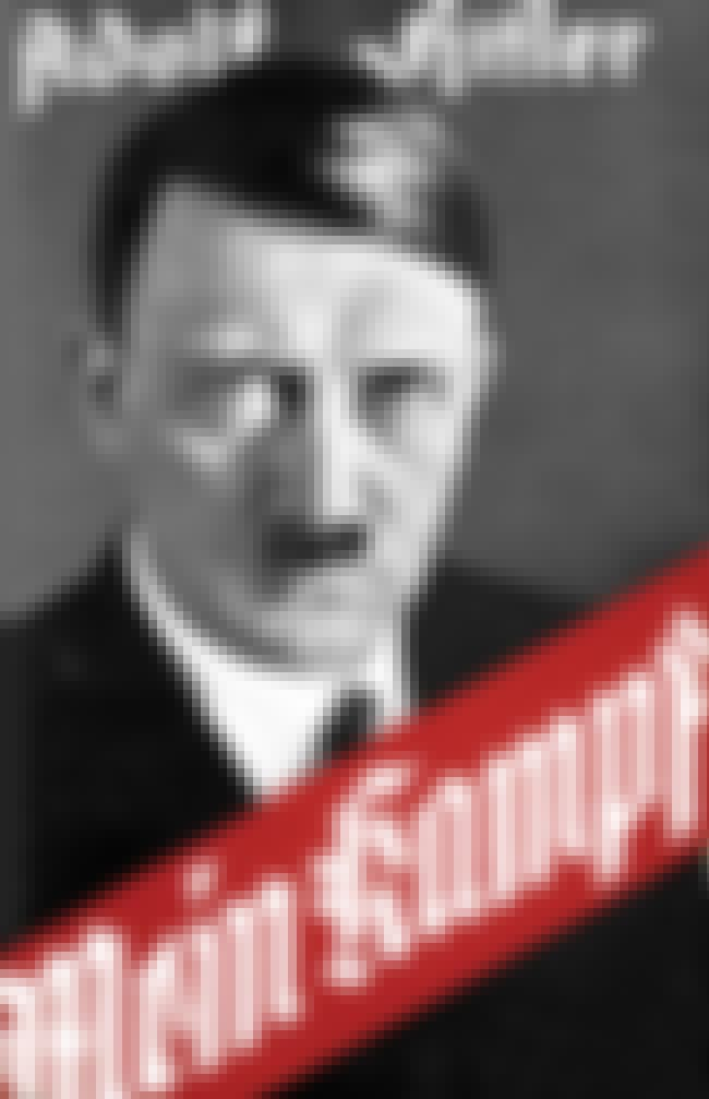 Mein Kampf is listed (or ranked) 1 on the list 16 Books You Didn't Know Were Written in Prison