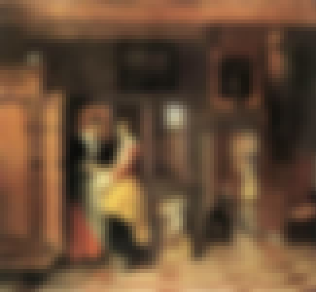 At the Linen Closet is listed (or ranked) 2 on the list Famous Genre Paintings by Pieter De Hooch