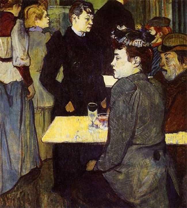Famous Genre Paintings by Henri De Toulouse-Lautrec