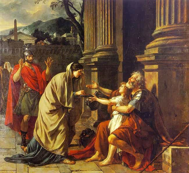 Belisarius Begging for Alms is listed (or ranked) 2 on the list List of Famous Jacques-Louis David Artwork