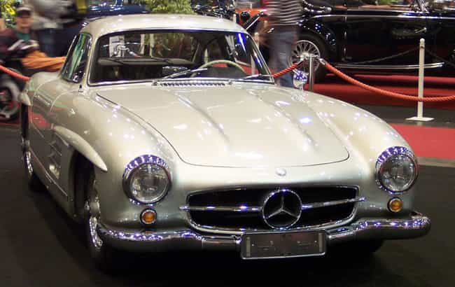 mercedes benz 300sl is listed or ranked 1 on the list full list