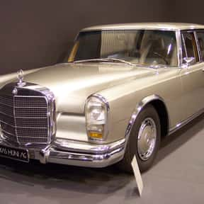 Mercedes-Benz 600 is listed (or ranked) 16 on the list All James Bond Cars