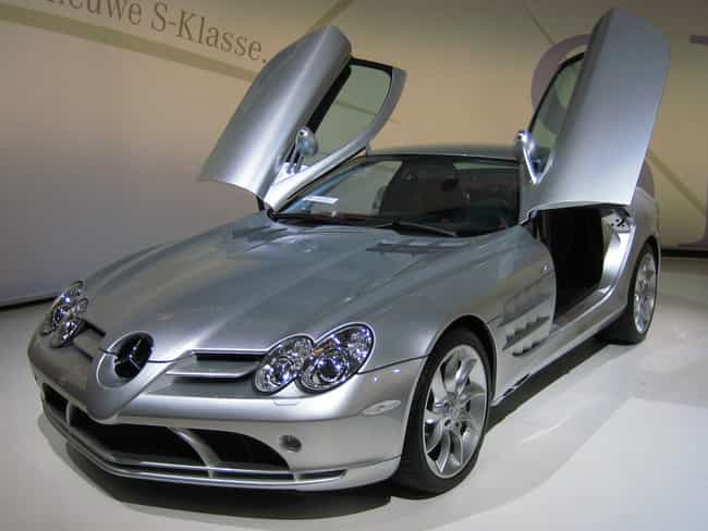Mercedes-Benz SLR McLare... is listed (or ranked) 3 on the list Full List of Mercedes-Benz Models