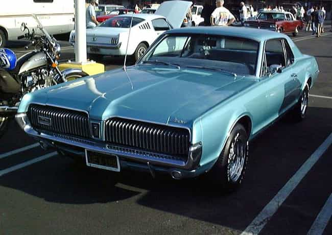 Mercury Cougar is listed (or ranked) 2 on the list Full List of Mercury Models