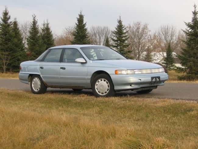 Mercury Sable is listed (or ranked) 4 on the list Full List of Mercury Models