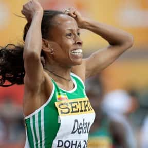 Meseret Defar is listed (or ranked) 22 on the list The Best Female Athletes of All Time
