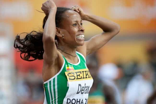 Meseret Defar Is Listed Or Ranked 2 On The List Famous Female Athletes From