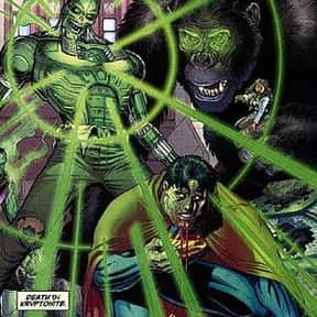 Metallo is listed (or ranked) 8 on the list The Best Superman Villains Ever