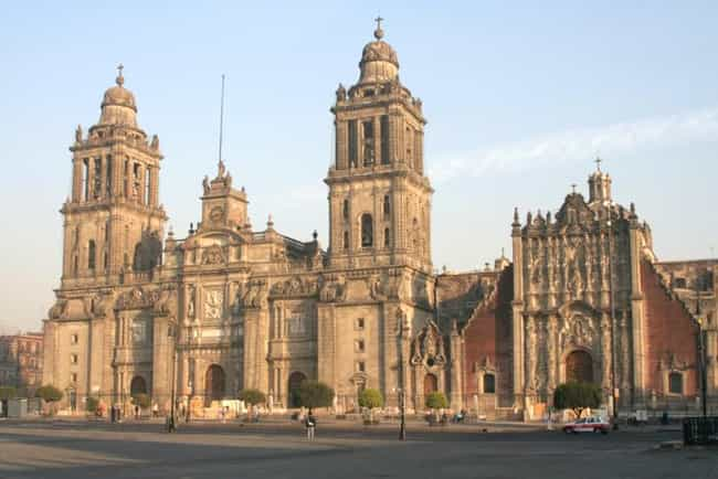 Famous mexico city buildings list of architecture in mexico city mexico city metropolitan cathe is listed or ranked 3 on the sciox Gallery