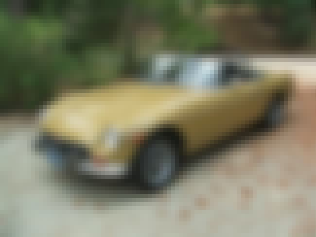 MG MGB is listed (or ranked) 3 on the list Full List of MG Models