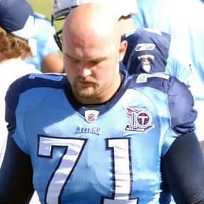 Michael Roos is listed (or ranked) 25 on the list The Best Tennessee Titans of All Time