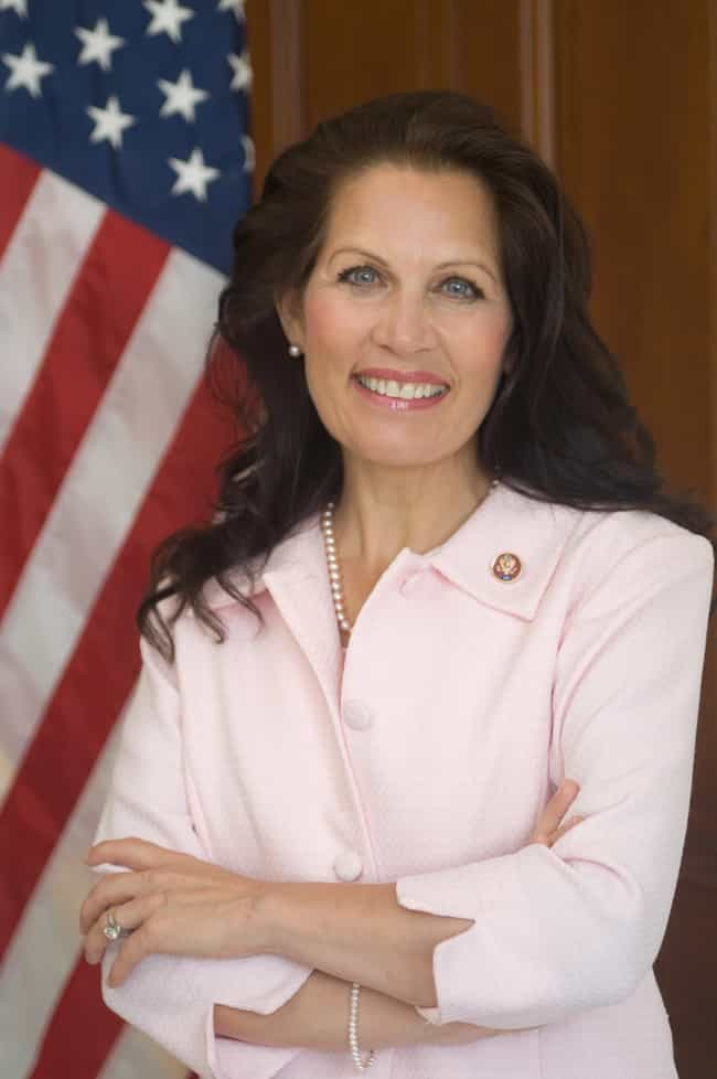 Michele Bachmann is listed (or ranked) 2 on the list Politicians Who Believe in Conspiracies