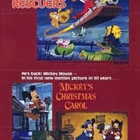 Mickey's Christmas Carol is listed (or ranked) 21 on the list The Best Christmas Movies of All Time
