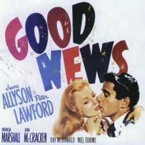 Good News is listed (or ranked) 7 on the list The Best Movies With Good in the Title