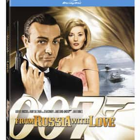 From Russia with Love is listed (or ranked) 1 on the list The Best Spy Movies Based on Books