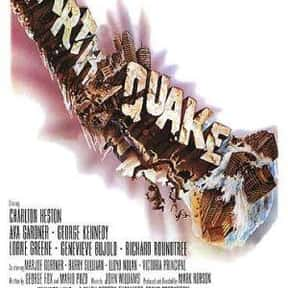 Earthquake is listed (or ranked) 4 on the list The Best '70s Disaster Movies