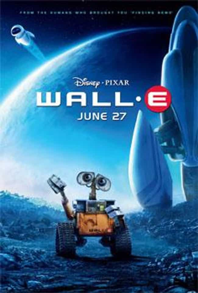 WALL-E is listed (or ranked) 4 on the list What to Watch If You Love 'Doctor Who'