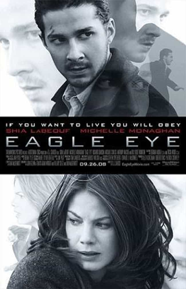 Eagle Eye is listed (or ranked) 4 on the list What to Watch If You Love Nerve