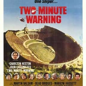 Two-Minute Warning is listed (or ranked) 6 on the list The Best '70s Disaster Movies