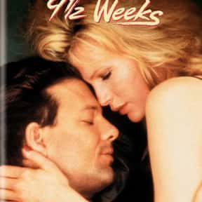 9½ Weeks is listed (or ranked) 17 on the list List of All Movies Released in 1986