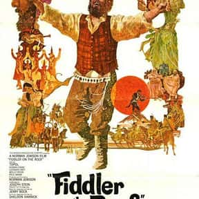 Fiddler on the Roof is listed (or ranked) 7 on the list The Most Rewatchable Movie Musicals