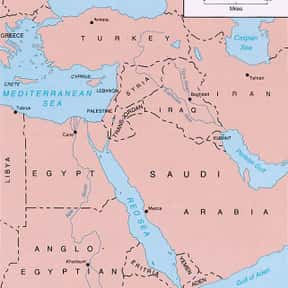 Middle East Theatre of World W is listed (or ranked) 18 on the list World War II Battles Involving the Axis Powers