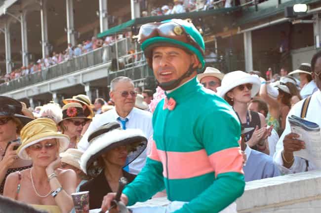 Mike E. Smith is listed (or ranked) 3 on the list Jockeys Cast List