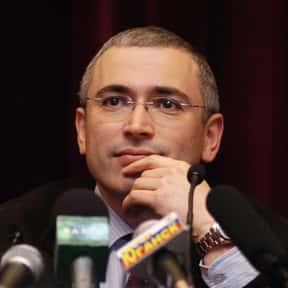 Mikhail Khodorkovsky is listed (or ranked) 20 on the list Real World Avengers Villains