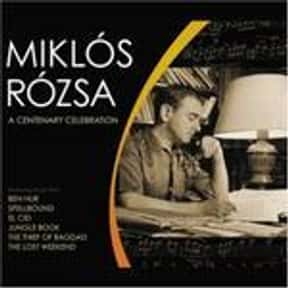 Miklós Rózsa is listed (or ranked) 10 on the list Famous Authors from Hungary