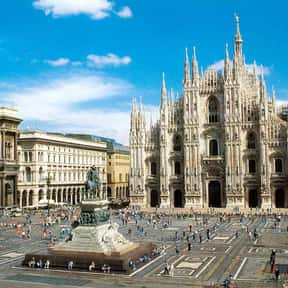 Milan - 45°28'N is listed (or ranked) 20 on the list All Global Cities, Listed North to South