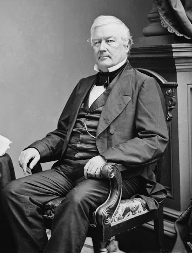 Millard Fillmore is listed (or ranked) 2 on the list U.S. Presidents Who Weren't Elected Into Office