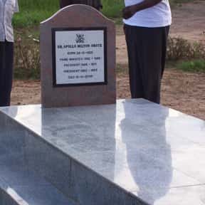 Milton Obote is listed (or ranked) 24 on the list Famous People From Uganda