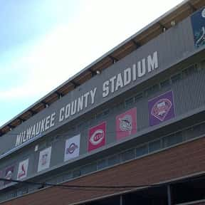 Milwaukee County Stadium is listed (or ranked) 14 on the list The Best MLB Ballparks