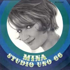 Mina is listed (or ranked) 6 on the list The Best Europop Bands/Artists