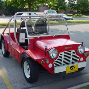 Mini Moke is listed (or ranked) 4 on the list All James Bond Cars