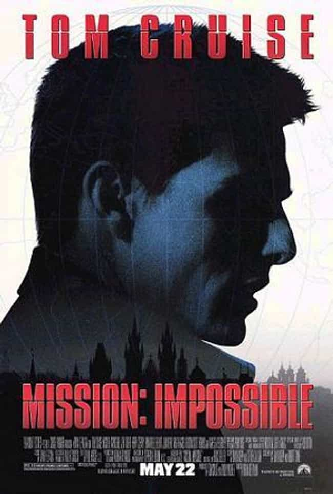 Mission: Impossible is listed (or ranked) 4 on the list The Best Recent Spy Shows and Movies