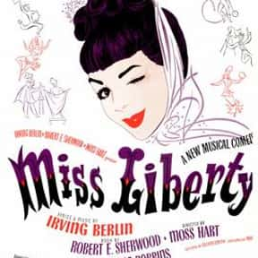 Miss Liberty is listed (or ranked) 7 on the list Irving Berlin Plays List