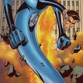 Mister Fantastic is listed (or ranked) 5 on the list List of Fantastic Four Characters