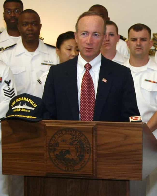 Mitch Daniels is listed (or ranked) 4 on the list Famous North Central High School Alumni