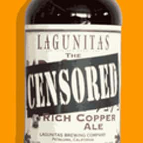 Lagunitas Censored Ale is listed (or ranked) 16 on the list Beers with 5.9 Percent Alcohol Content