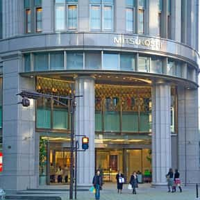 Mitsukoshi is listed (or ranked) 7 on the list The Best French Department Stores