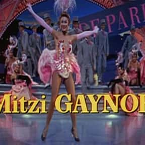 Mitzi Gaynor is listed (or ranked) 10 on the list Full Cast of Hollywood Singing And Dancing: The 1950s Actors/Actresses