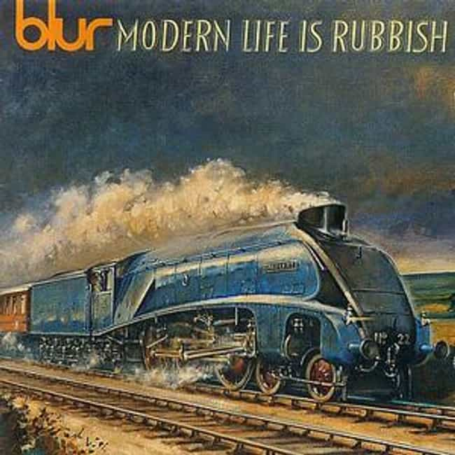 Modern Life Is Rubbish ... is listed (or ranked) 4 on the list The Best Blur Albums of All Time