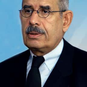 Mohamed ElBaradei is listed (or ranked) 9 on the list Famous Cairo University Alumni