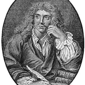 Molière is listed (or ranked) 19 on the list The Best Writers of All Time