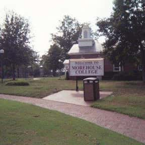 Morehouse College is listed (or ranked) 3 on the list Black Enterprise's Top 50 Colleges For African Americans