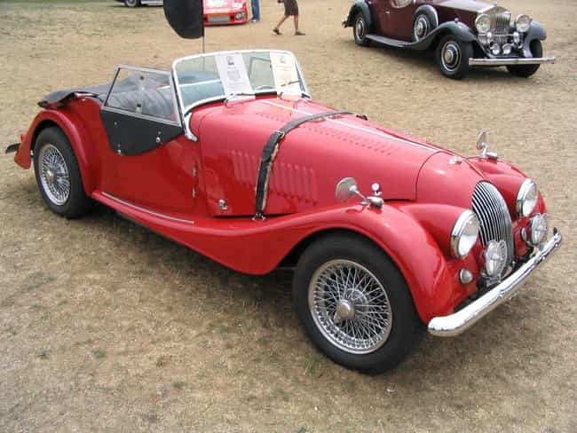 Morgan +4 is listed (or ranked) 4 on the list Full List of Morgan Models