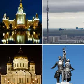 Moscow is listed (or ranked) 6 on the list The Top Party Cities of the World