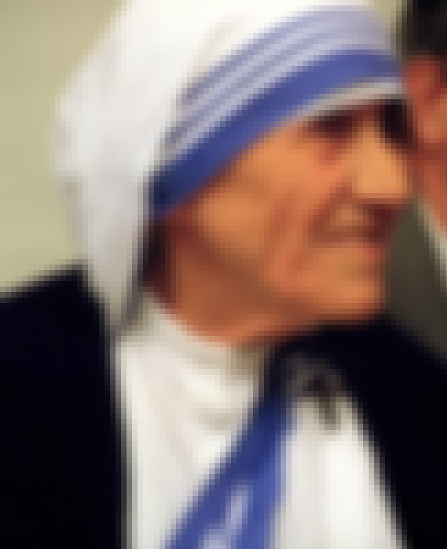Mother Teresa is listed (or ranked) 1 on the list List of Famous Nuns
