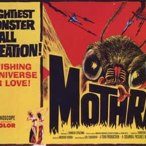 Mothra is listed (or ranked) 19 on the list The Best Sci-Fi Movies of the 1960s